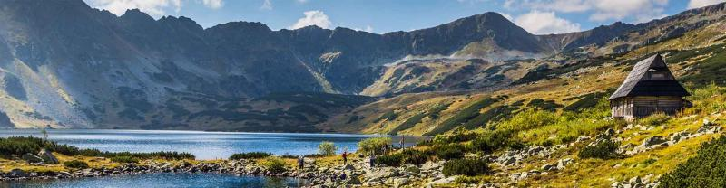 Summer in Five Lakes Valley in the High Tatra Mountains, Slovakia