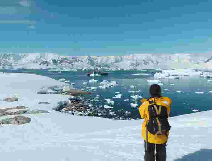 how to travel to antarctica from india