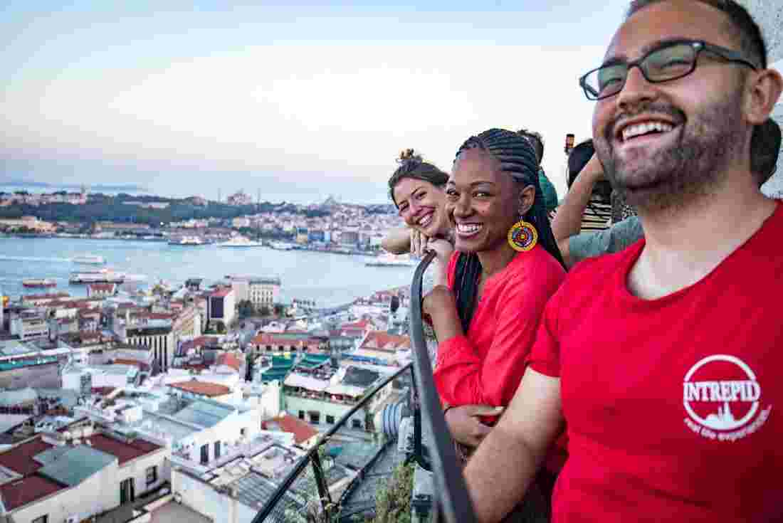 Enjoy the views from Galata Tower in Istanbul