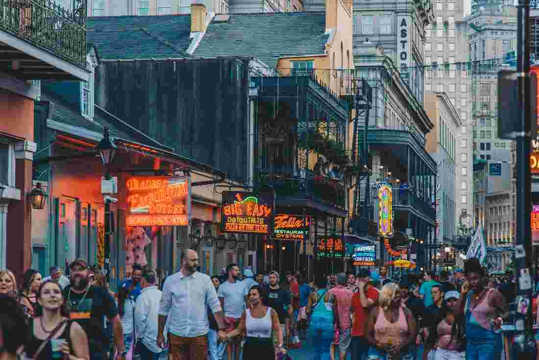 0cd8566a8a6 Experience Bourbon street New Orleans with Intrepid Travel