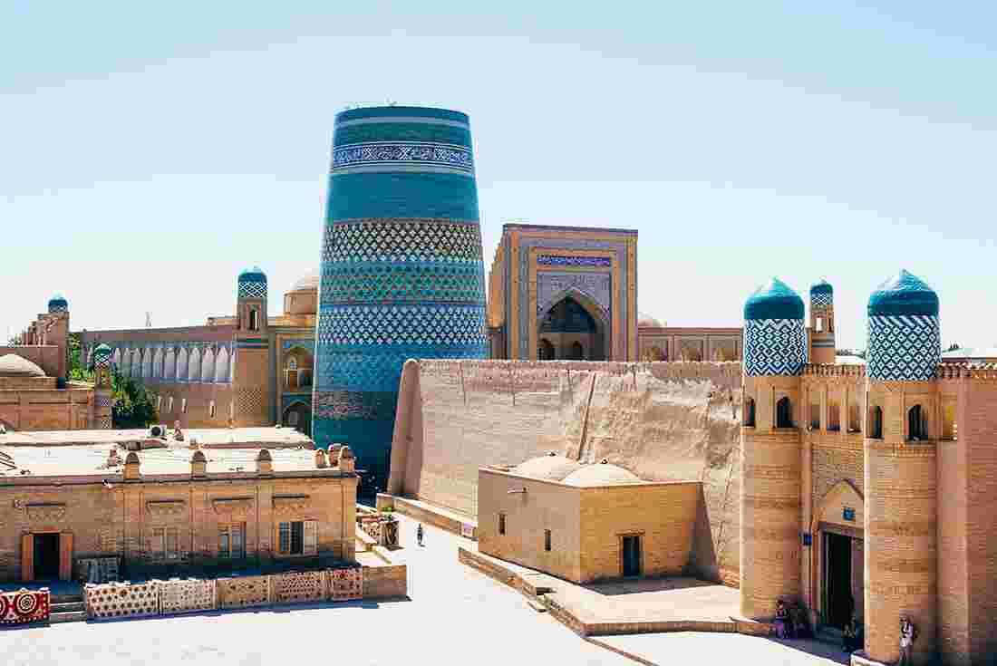 KUzbekistan, Khiva, Itchan Kala