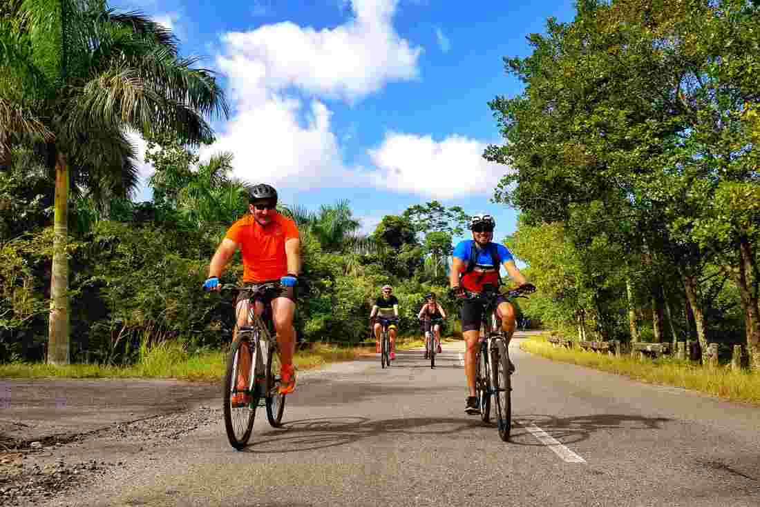 Gallery. Map of Cycle Cuba  ... c652f3b71