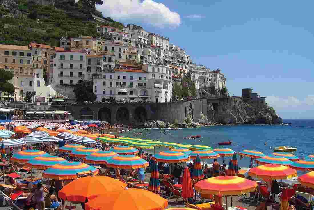 rome to amalfi intrepid travel us