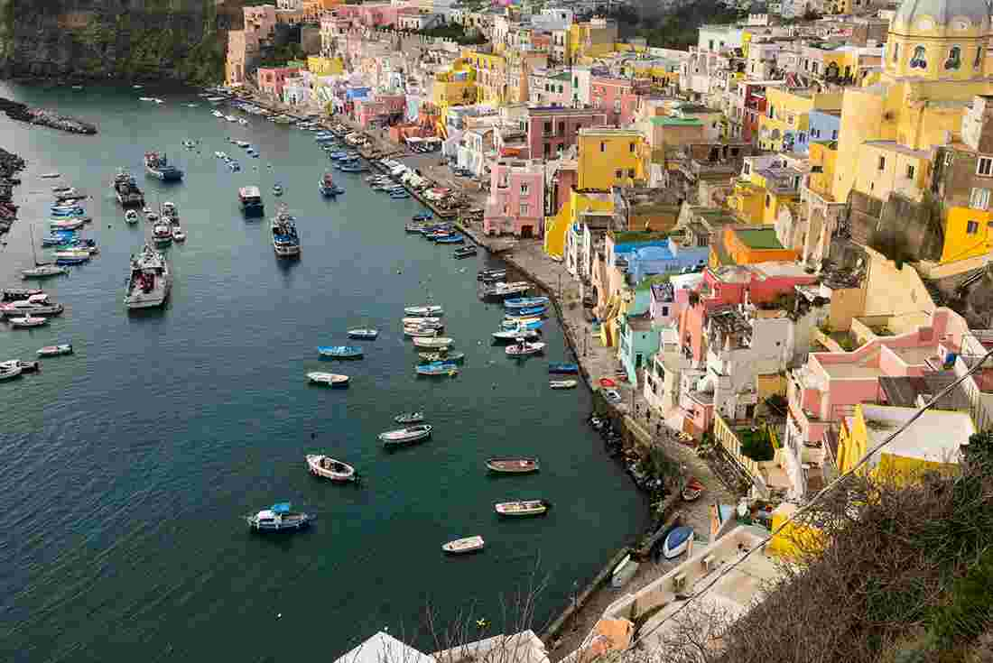 sail italy procida to amalfi intrepid travel us. Black Bedroom Furniture Sets. Home Design Ideas