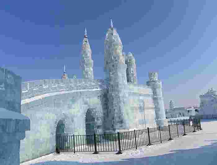 Explore The Harbin Ice Festival Castle
