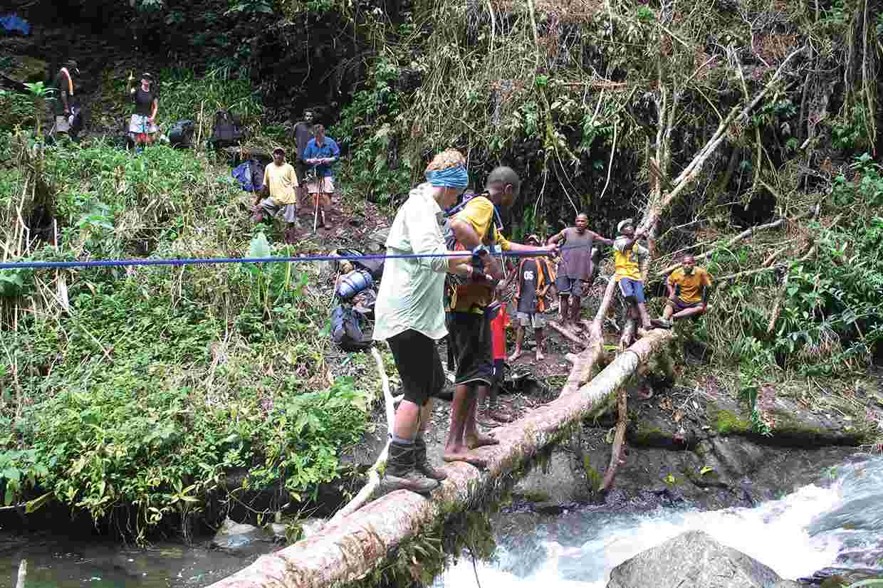 the kokoda trail Provides background history, photos, map, preparation and survival guide for trekkers wishing to embark on a journey on the kokoda trail.