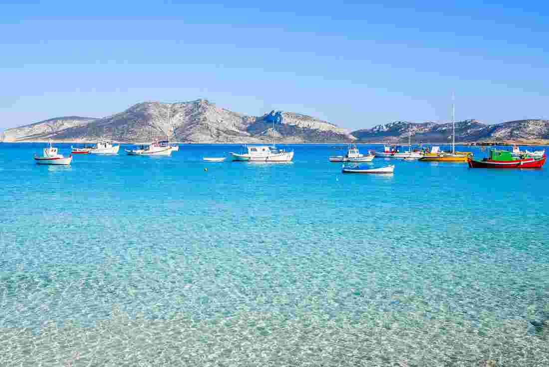Sailing the Small Cyclades in Greece