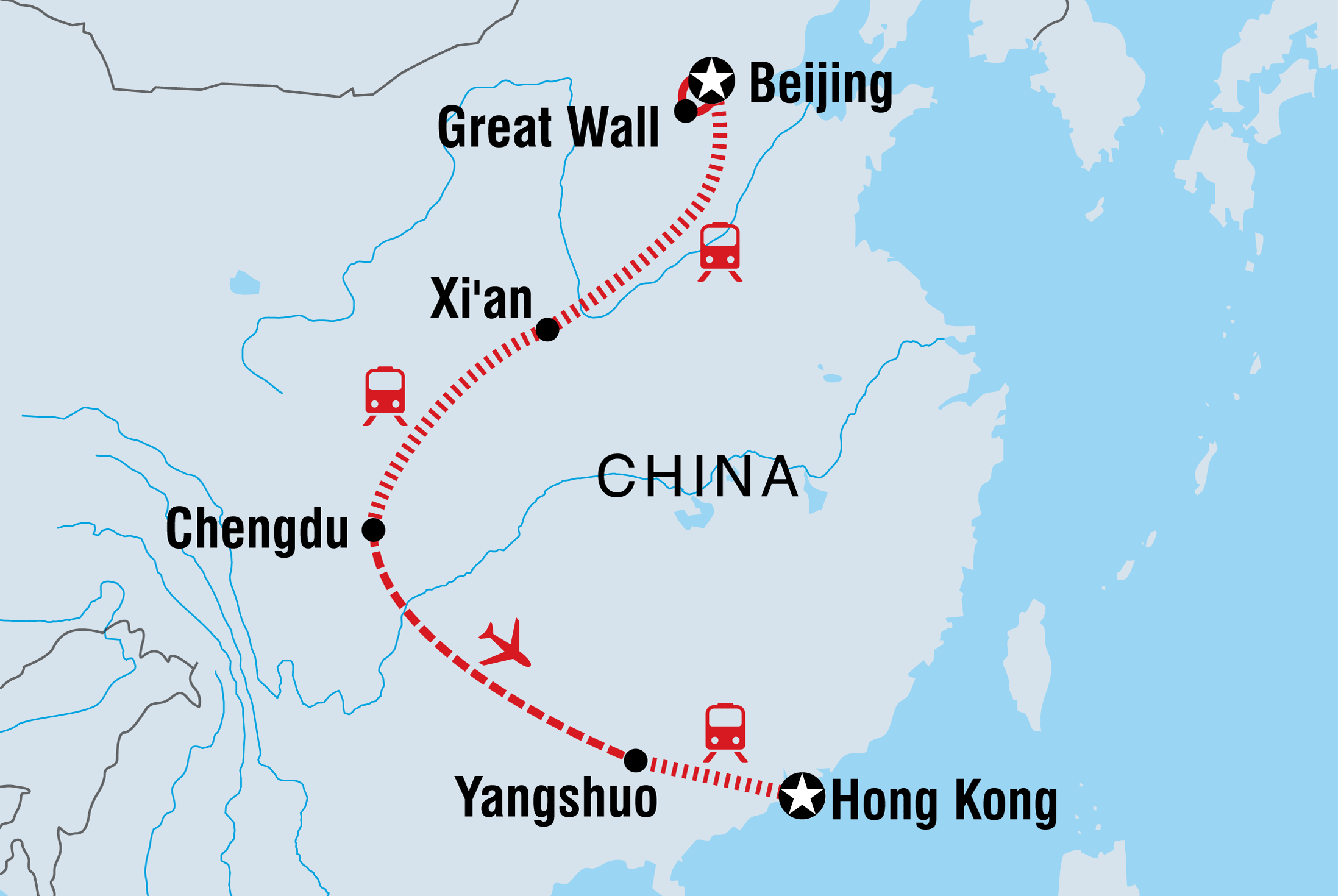 Region Of China Map.China Tours Travel Intrepid Travel Au