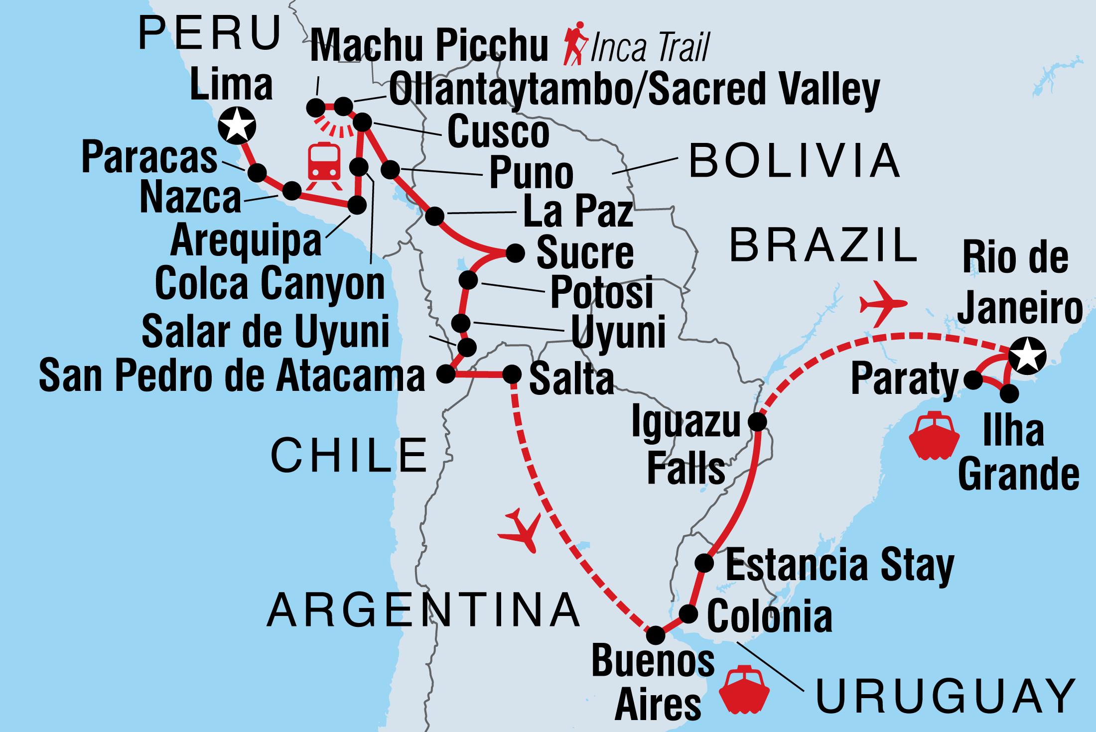 Uruguay Tours Travel Intrepid Travel US
