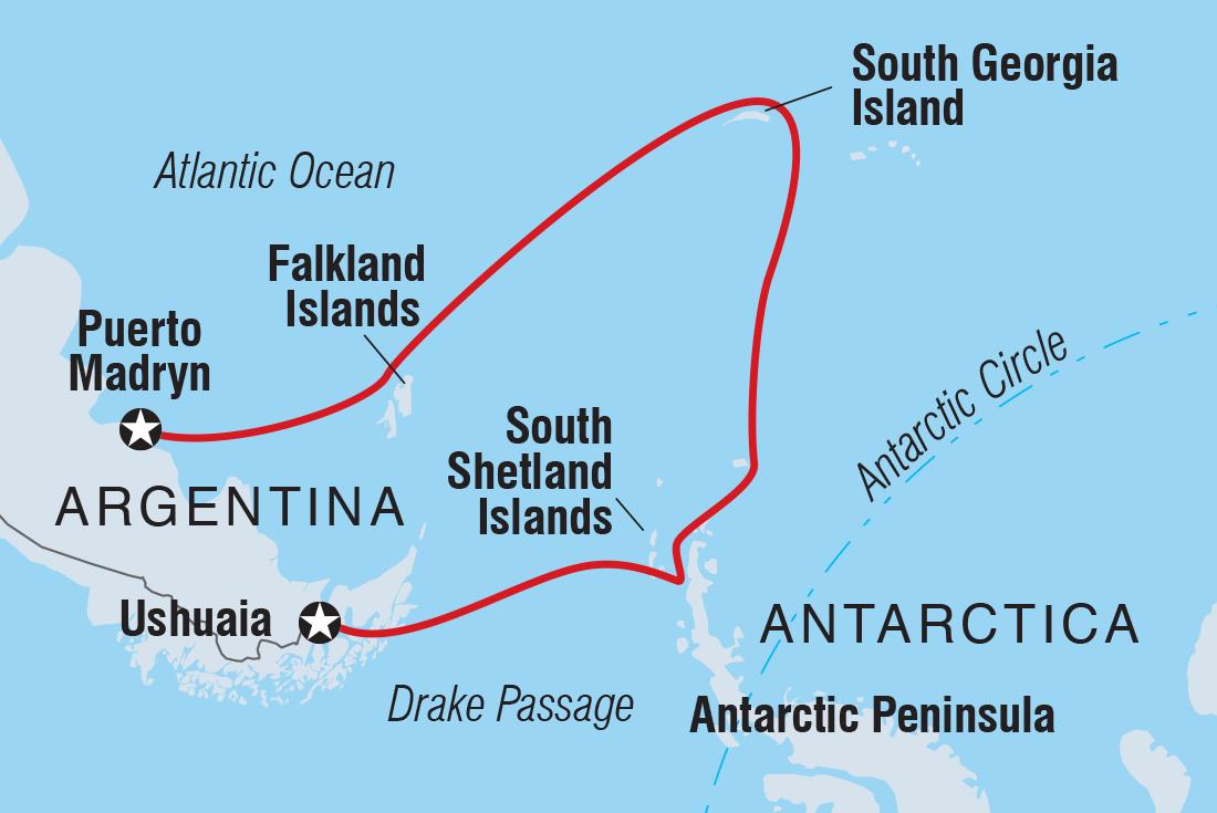 Exclusive Antarctica, South Georgia & the Falklands | Intrepid Travel AU