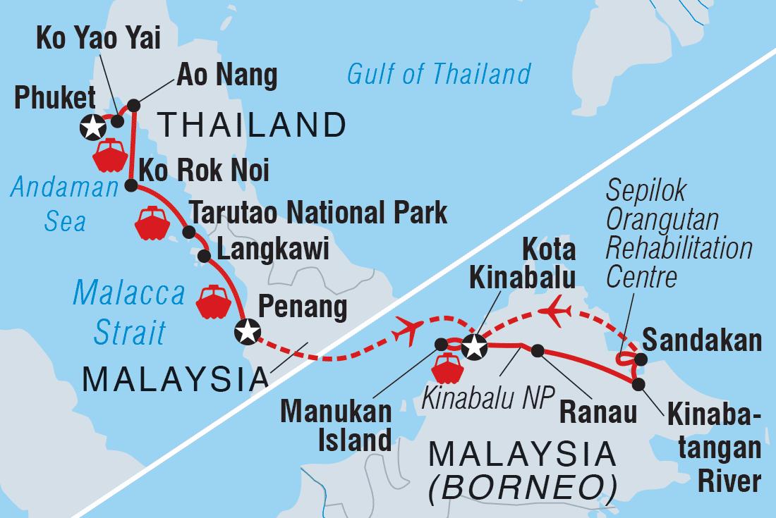 Borneo Tours Travel Intrepid Travel Au