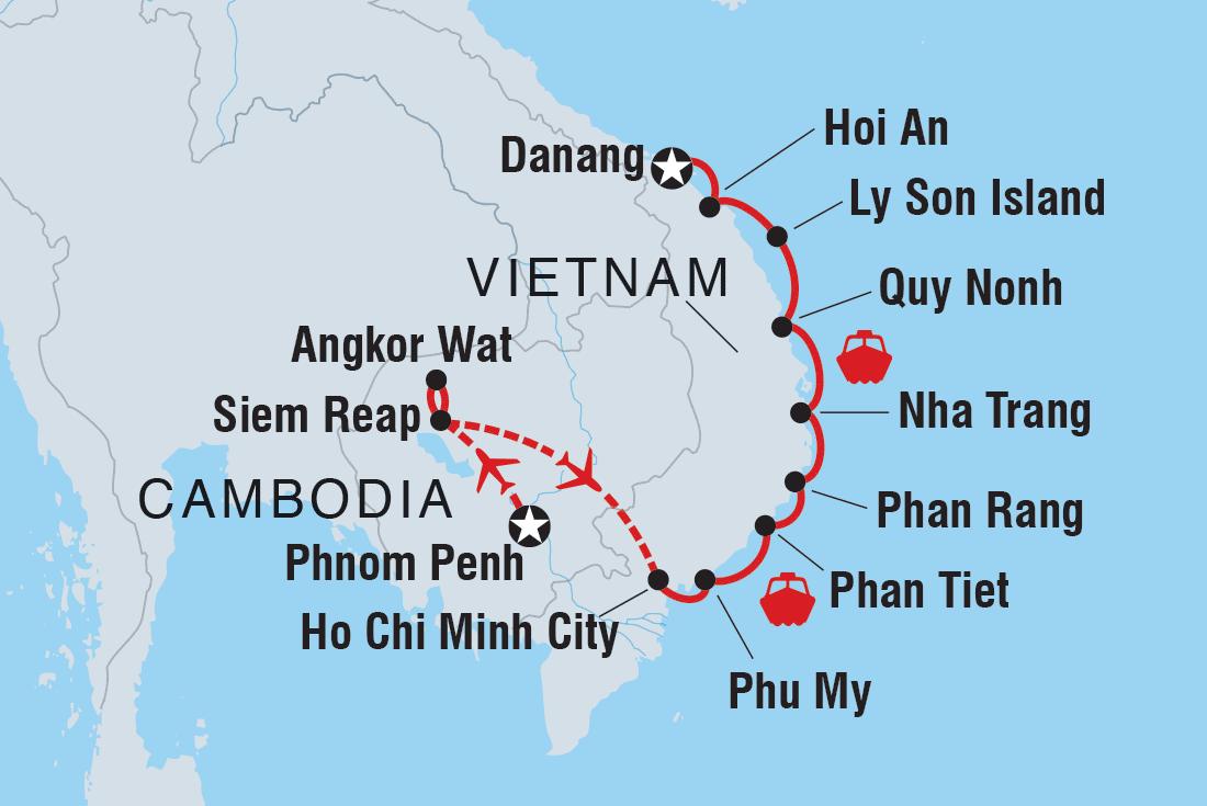 Nha Trang Vietnam Map.Vietnam Tours Travel Intrepid Travel Us