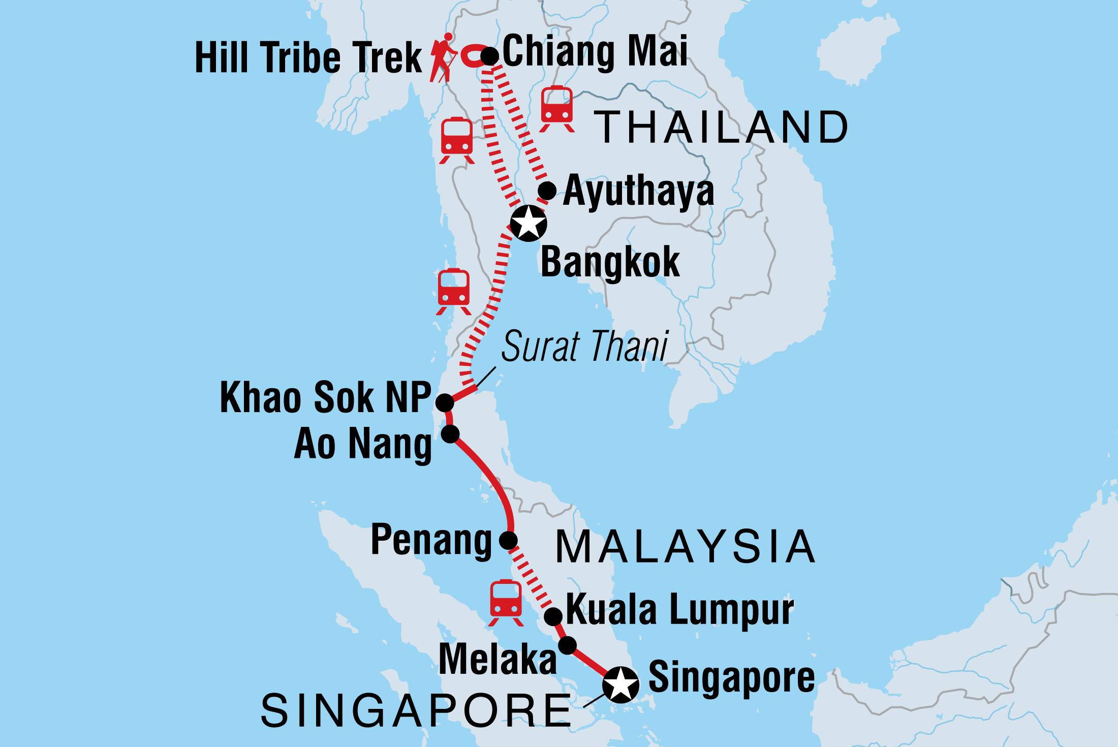 Epic Bangkok to Singapore | Intrepid Travel