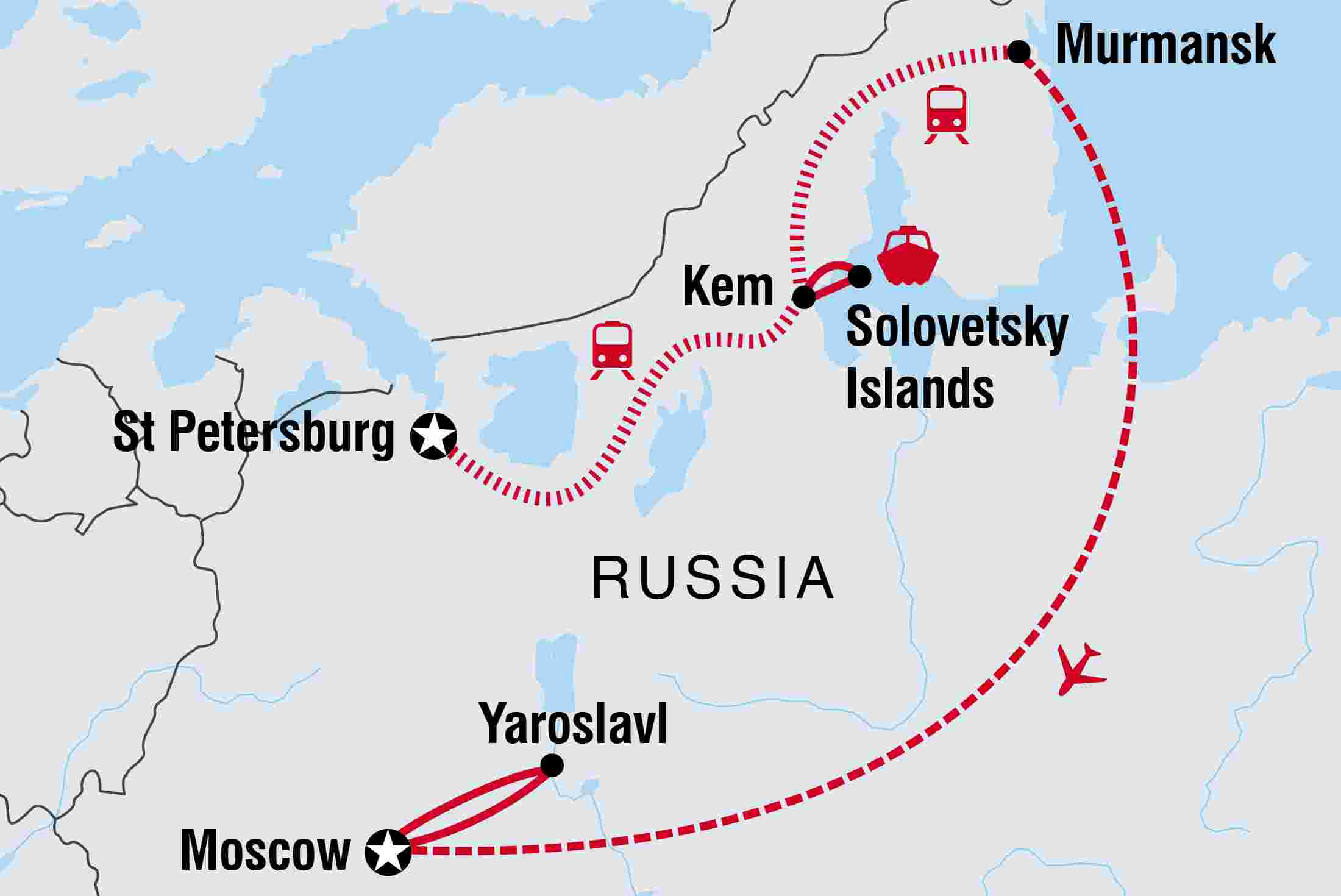 Russia Tours & Travel