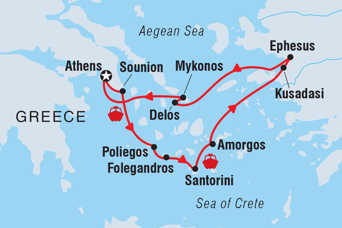Best Greece Escorted Tours Holidays 2019 20 Intrepid