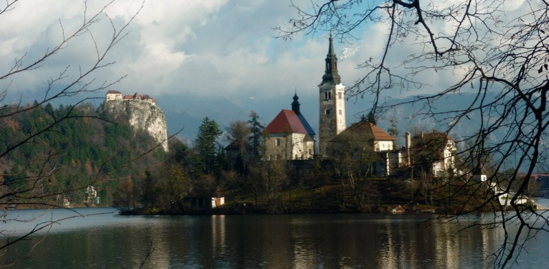 Lake Bled in Slovenia Eastern Europe