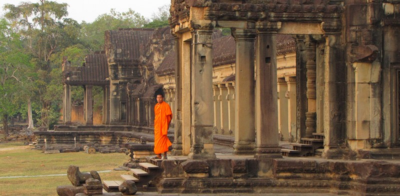 Angkor Wat Cambodia photo by Susan Blick