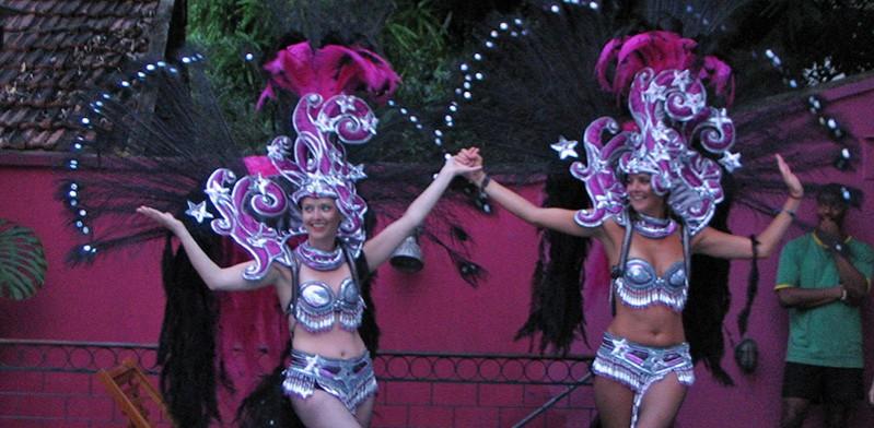 Taking part in Rio de Janeiro Carnival Brazil