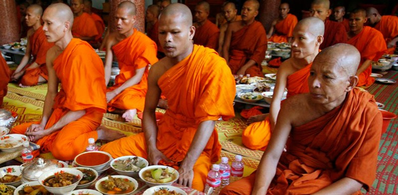 Pchum Ben Festiva in Cambodia Indochina