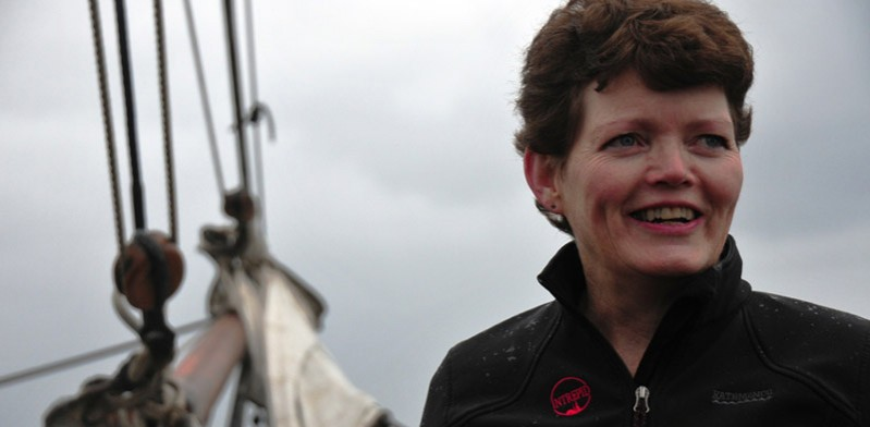 Jane Crouch prepares for Shackleton Epic voyage to Antarctica