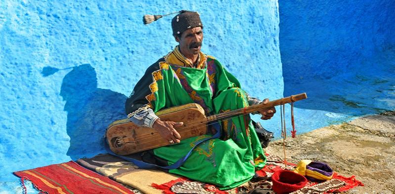 Morocco musician