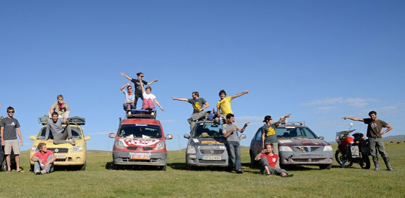 Mongol Rally by Charlie Grosso