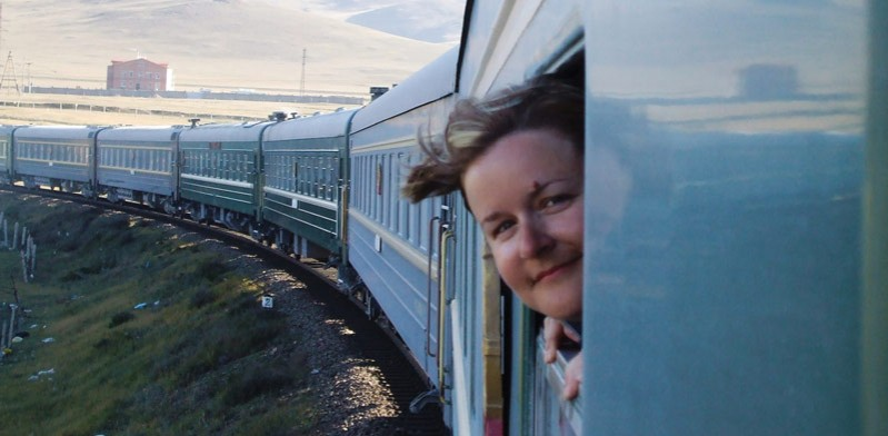 mongolia train lady