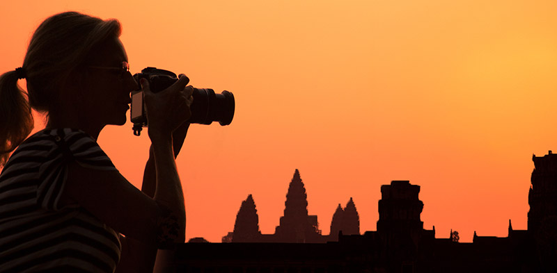 Photography tips for temples of Angkor by Karen Lucas