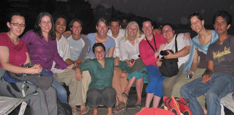 Brenda McCormick's Kathmandu to Delhi group