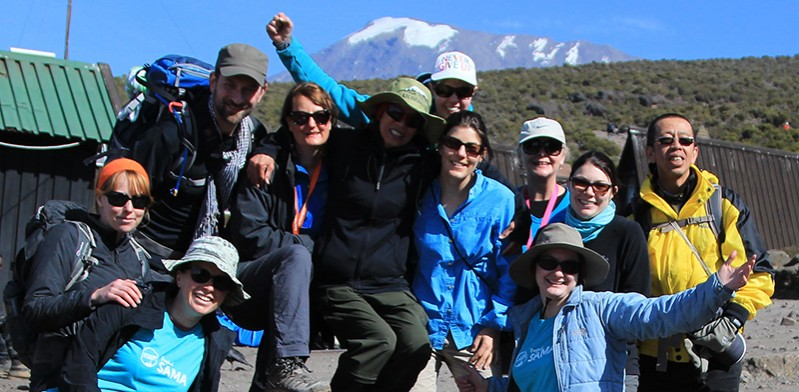 Kilimanjaro climb raises funds for SAMA