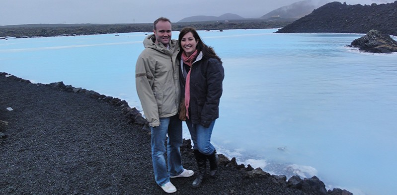 Holly Howard gets engaged in Iceland