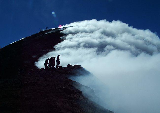 Arenal Volcano summit Guatemala