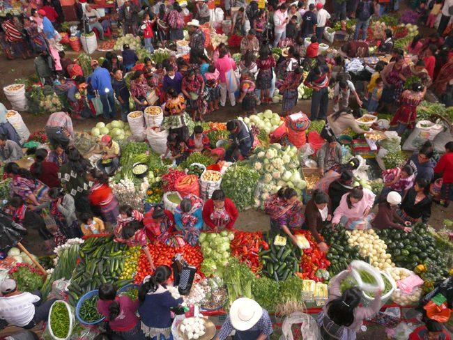 Chichicastenango Markets Guatemala