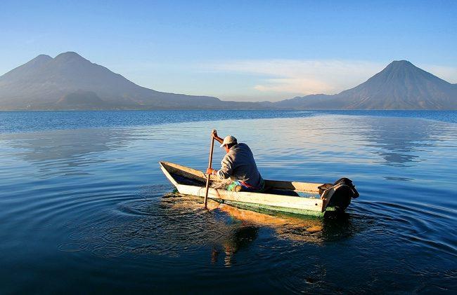 Beautiful Lake Atitlan Guatemala