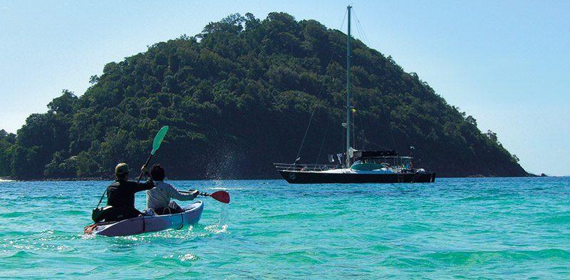Kayaking in Burma Myanmar