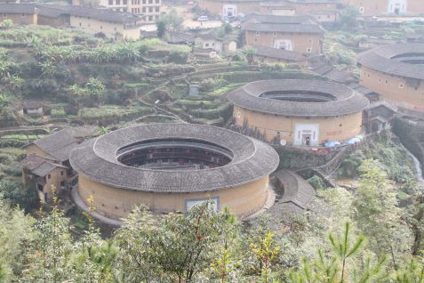 UNESCO World Heritage-listed homes of Tulou China