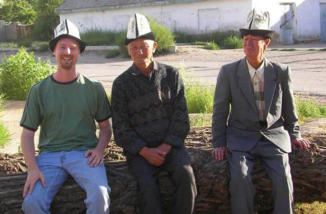 men in Kyrgyzstan