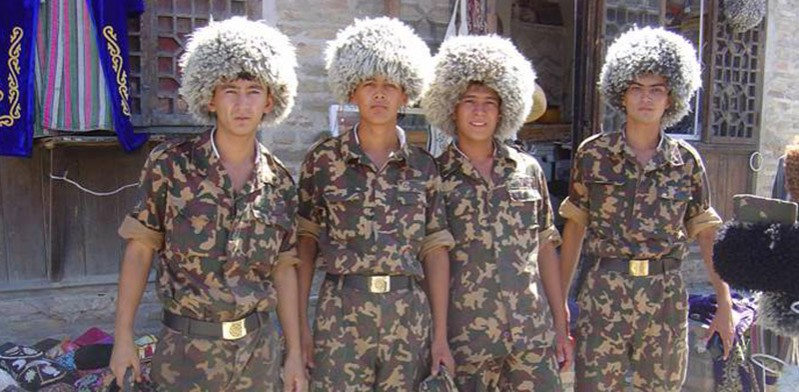 Soldiers of Turkmenistan