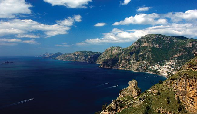 The breathtaking Amalfi Coast  Italy