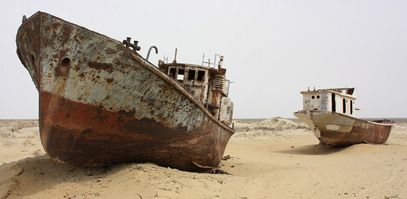 Aral Sea Kazakhstan photo by Arian Zwegers