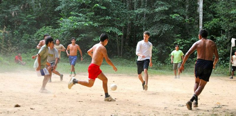 Playing in the Amazon Jungle of Peru