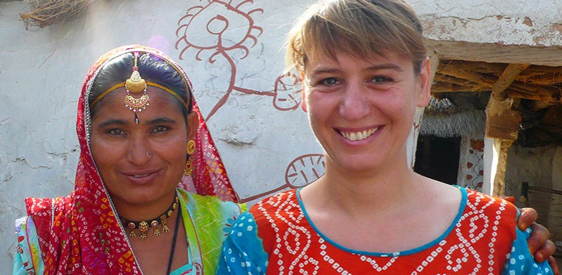 Making local friends in India