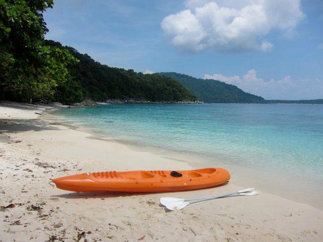 Sea kayak in the Perhentian Islands Malaysia