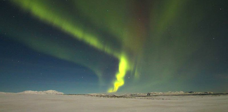magical northern lights of Iceland