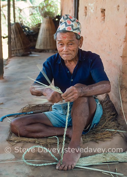 Taking portrait photographs in Nepal by Steve Davey