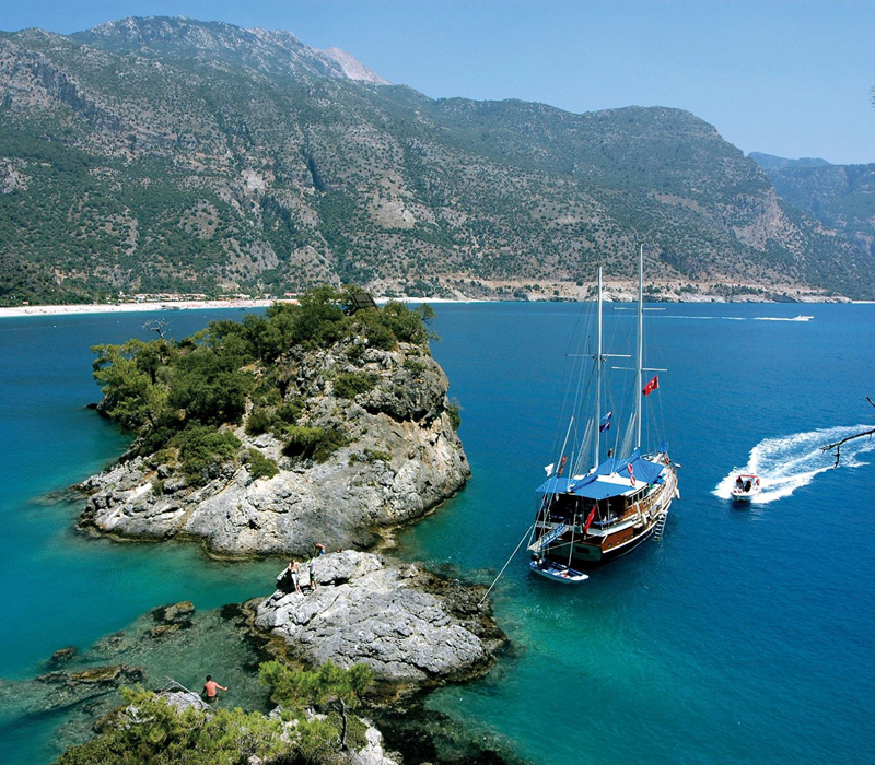 turkey boat sailing trips tours