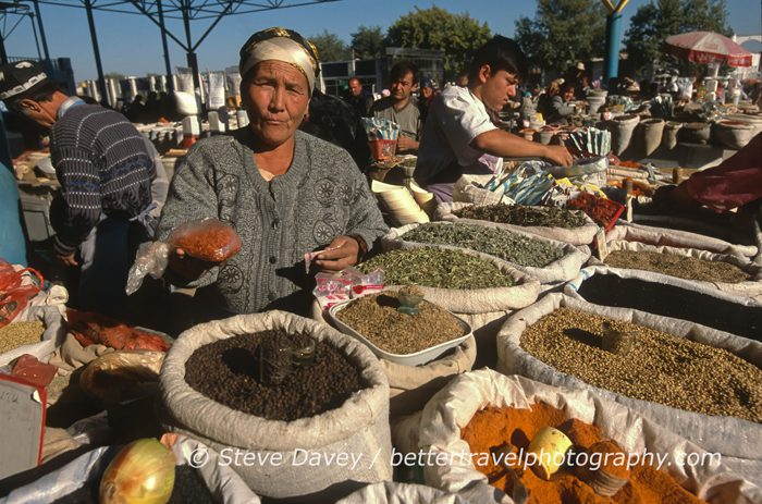 Local faces of Uzbekistan by Steve Davey