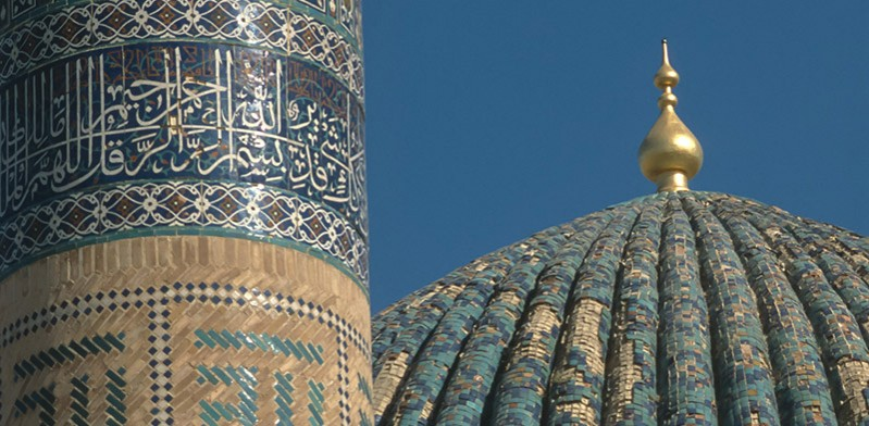 Beautiful architecture of Uzbekistan by Steve Davey