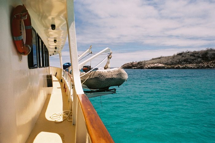 sailing adventure in the Galapagos Island Ecuador