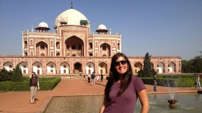 India female solo traveller ---Katy-Colins